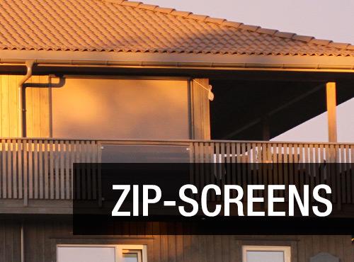 Zip-screens er en moderne og funksjonell solskjerming.