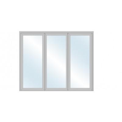 Umbra Pan Nordic 3 | 3-blads høyisolert foldevindusdør