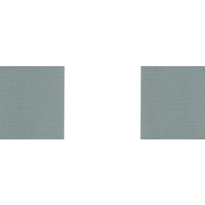 Vindusmarkise m/fjærarm, grå / hvite striper (315-170)