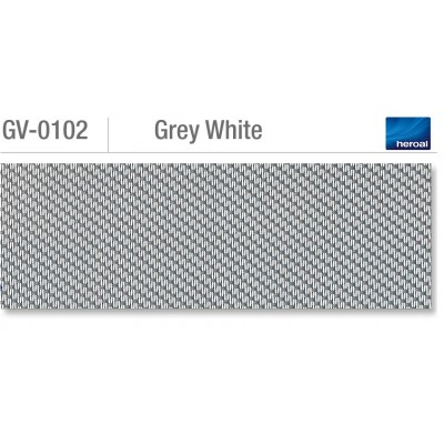 Heroal VSZ zip-screen | Grey White