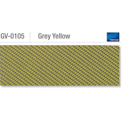 Heroal VSZ zip-screen | Grey Yellow