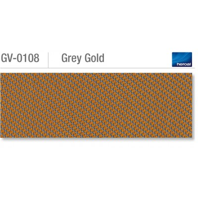 Heroal VSZ zip-screen | Grey Gold
