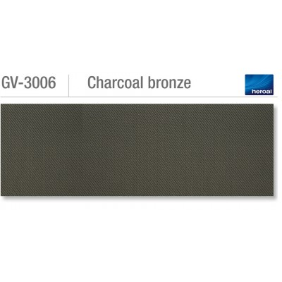 Heroal VSZ zip-screen | Charcoal Bronze