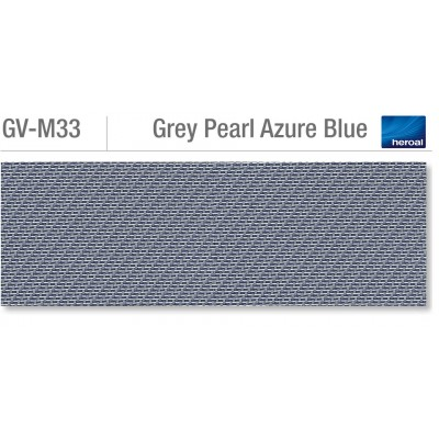 Heroal VSZ zip-screen | Grey Pearl Azure Blue