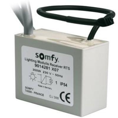 Somfy fjernstyrt strømbryter (RTS)