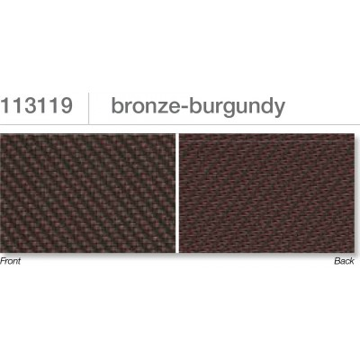 Beaufort ZIP-screen 100 | Bronze burgundy