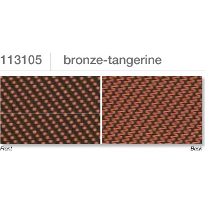 Beaufort ZIP-screen 100 | Bronze tangerine