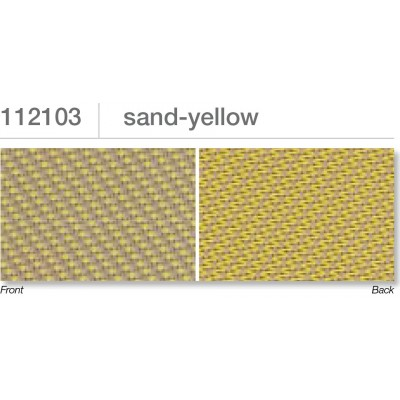 Beaufort ZIP-screen 100 | Sand yellow