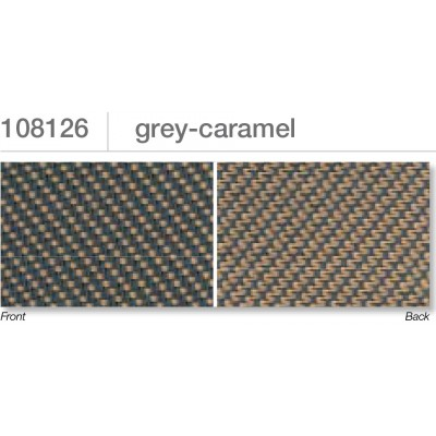 Beaufort ZIP-screen 100 | Grey caramel