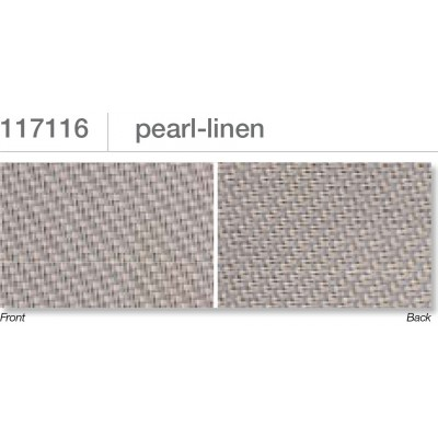 Beaufort ZIP-screen 100 | Pearl linen